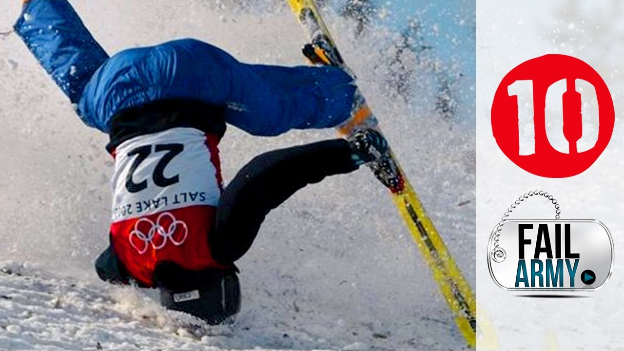 10 Winter Sports Fails