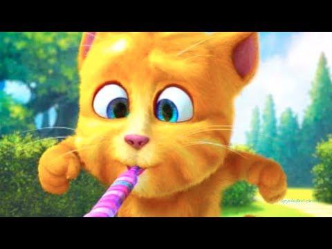 Смешной котенок, классный кот, прикол – Cute Ginger Cat – Мультик для детей