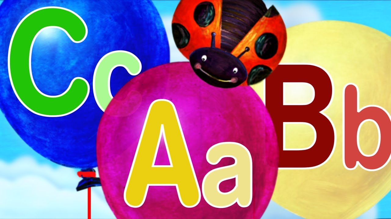 "ABC Songs for Children – ""ABC Song with Cute Ending"" New Version"