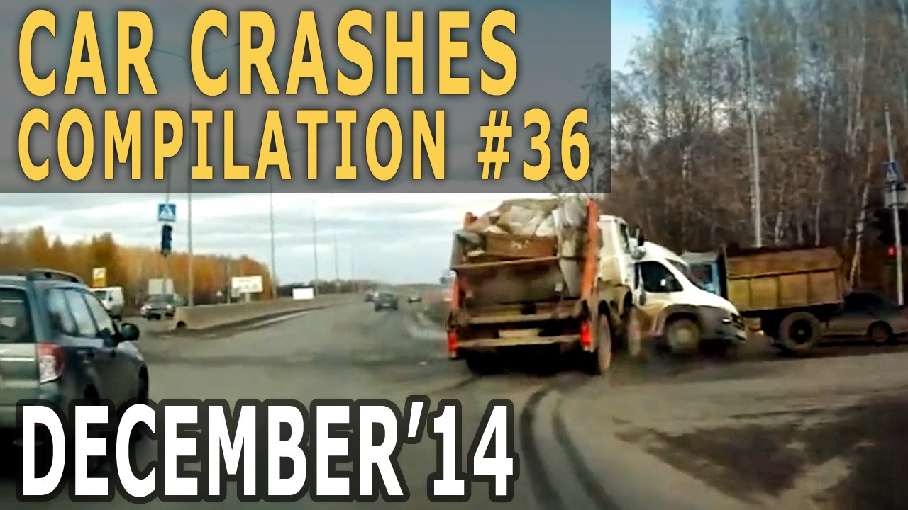 Car Crash Compilation 2014 December #36