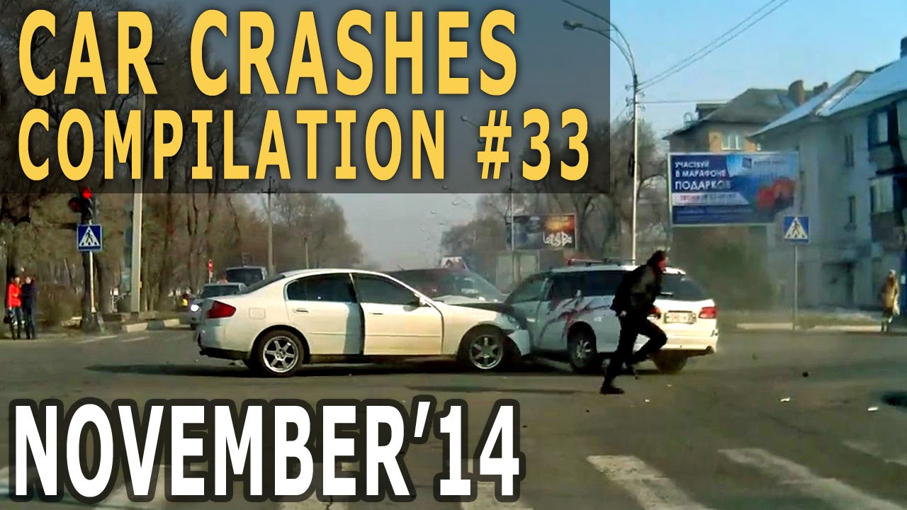 Car Crash Compilation 2014 November – Car Crashes Weekly #33