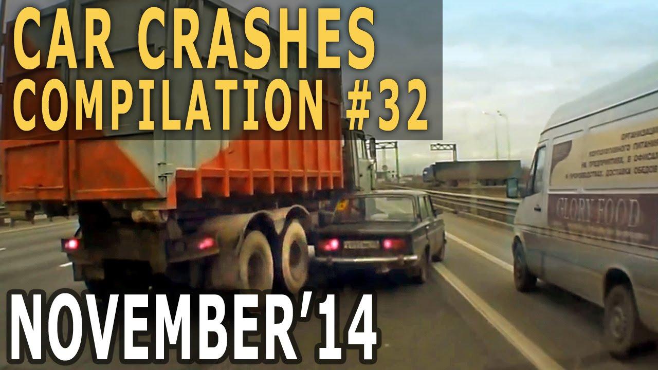 Car Crash Compilation 2014 November – Car Crashes Weekly #32