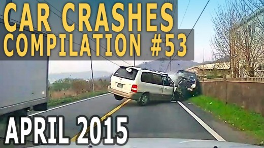 Car Crash Compilation 2015 April – Accidents of the Week #53