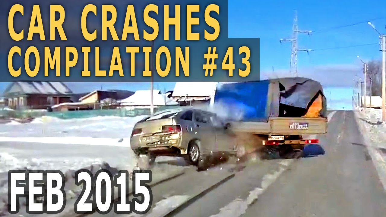 Car Crash Compilation 2015 February – Accidents of the Week #43