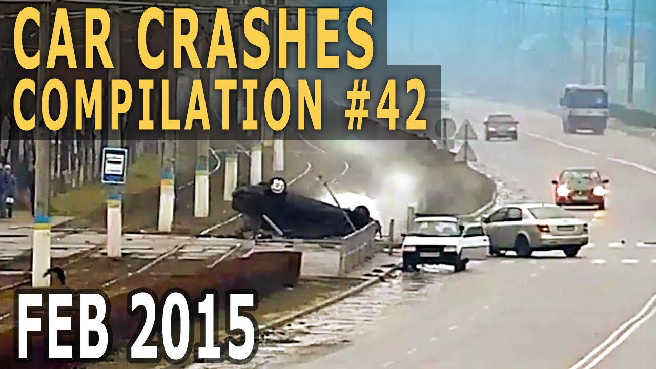 Car Crash Compilation 2015 February – Accidents of the week #42