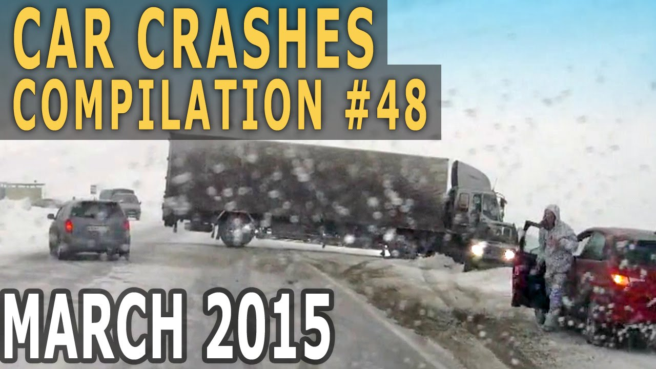 Car Crash Compilation 2015 March – Accidents of the Week #48