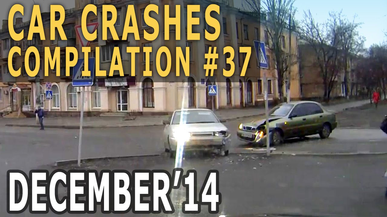 Car Crash Compilation December 2014 #37