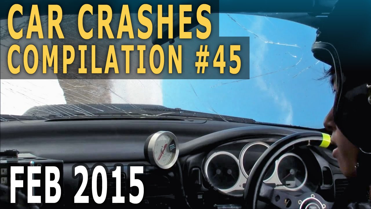Car Crash Compilation February 2015 – Accidents of the Week #45