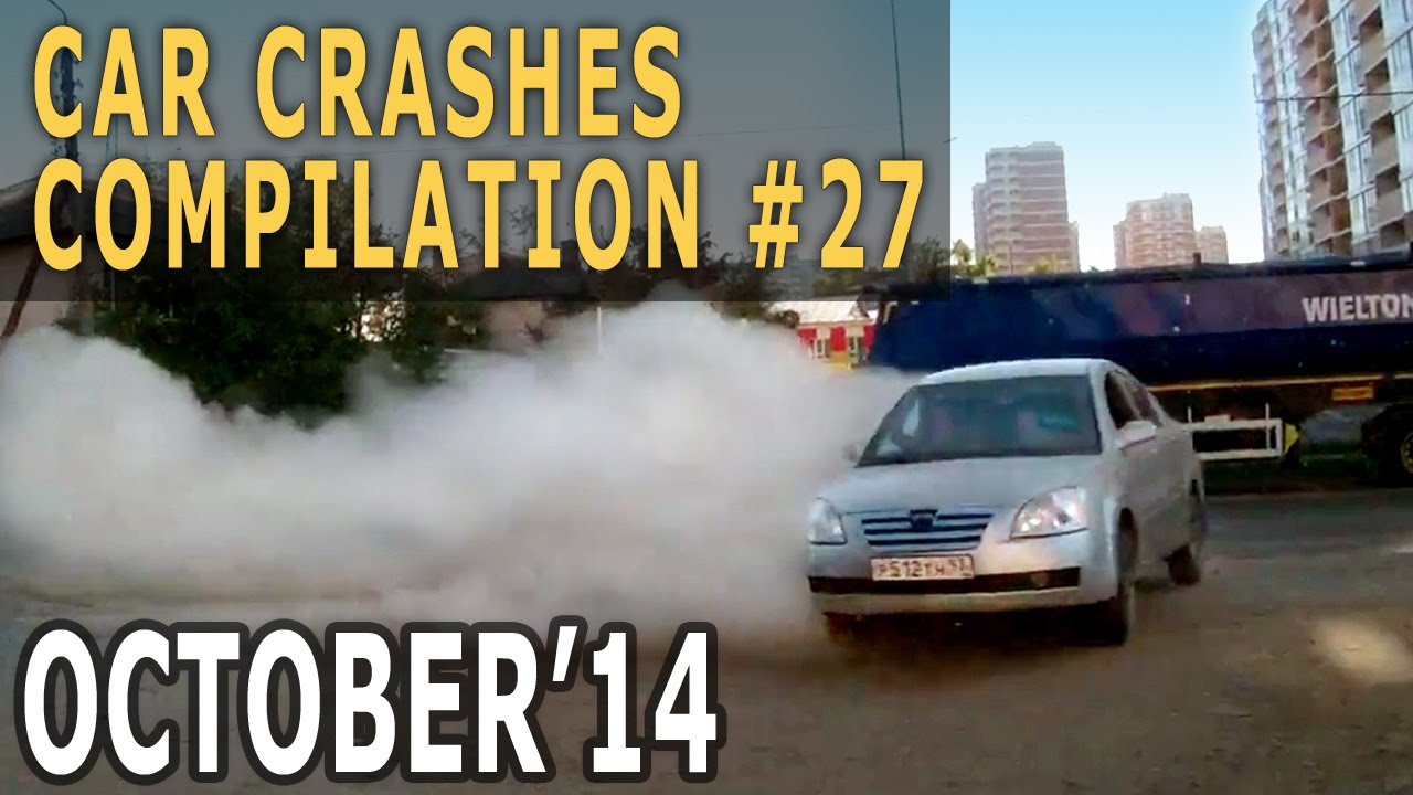 Car Crash Compilation October 2014 – Week #27