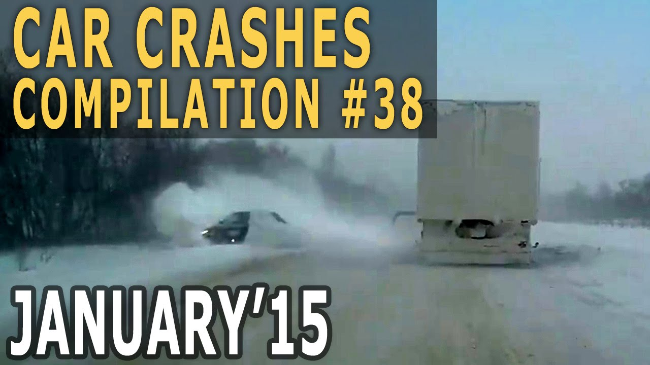 Car Crashes Compilation 2015 January #38