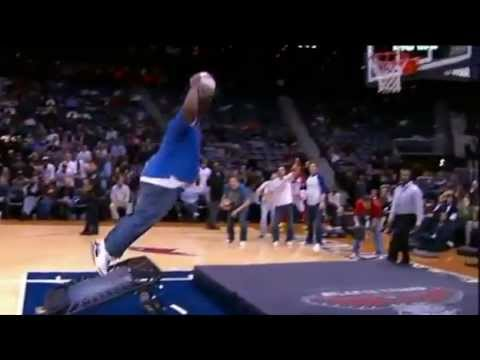 Fat Man Dunk FAIL