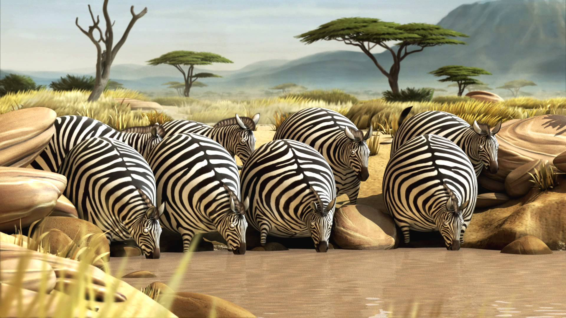 ROLLIN` SAFARI – what if animals were round?