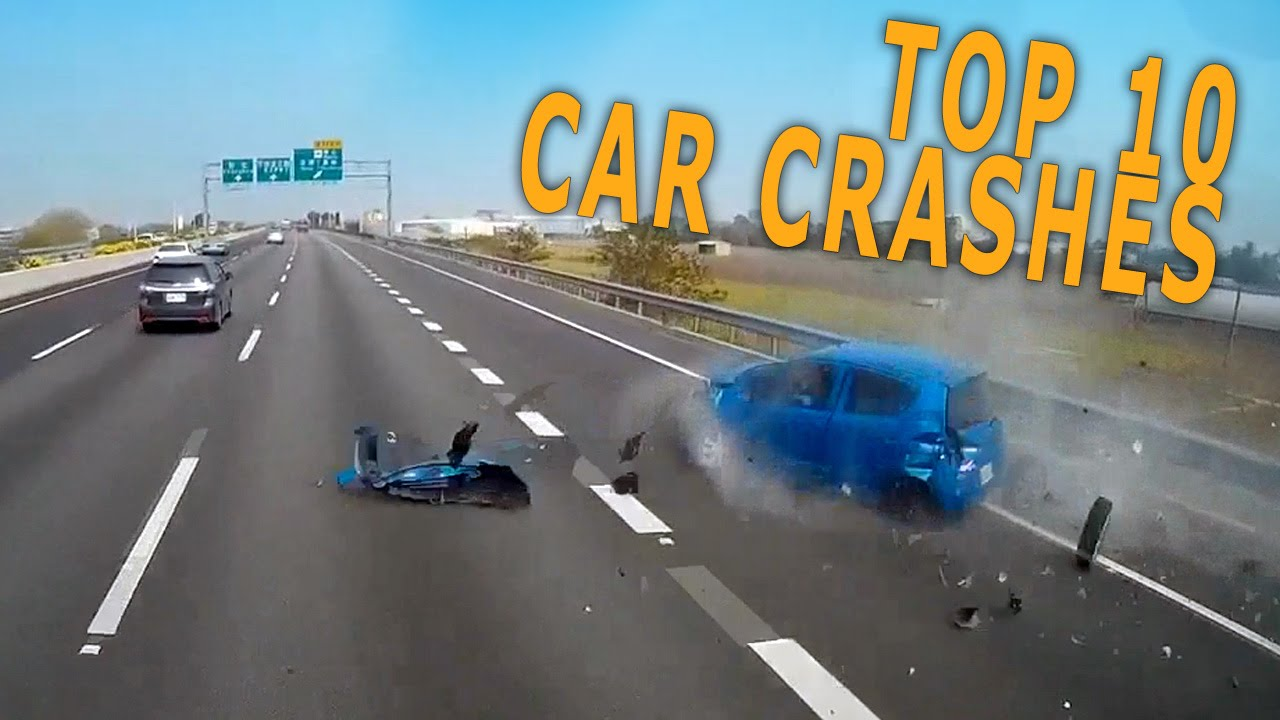 TOP 10 Car Crashes of the Winter 2015