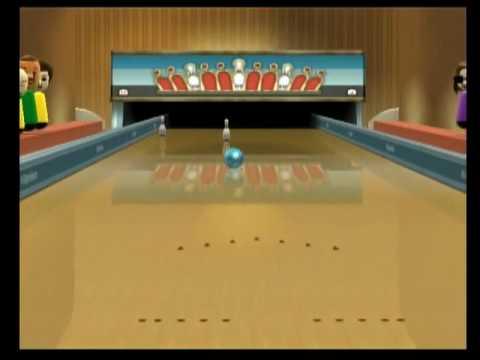 Wii Sports Resort- Bowling Fail