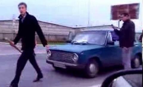 Быдло на дороге получает по морде. Подборка шокирующих драк. / Road Rage Fights in Russia