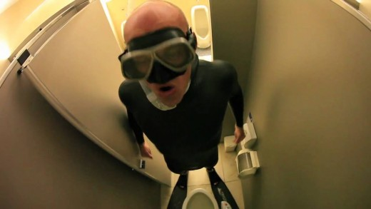 A real Toilet dive