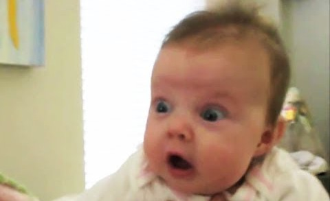 Babies Scared of Farts Compilation 2013 [HD]