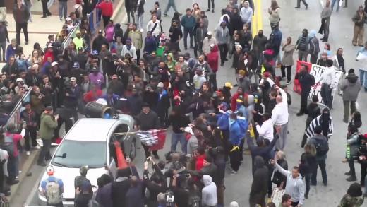 Baltimore Maryland Freddie Gray Riot (FULL) 2015
