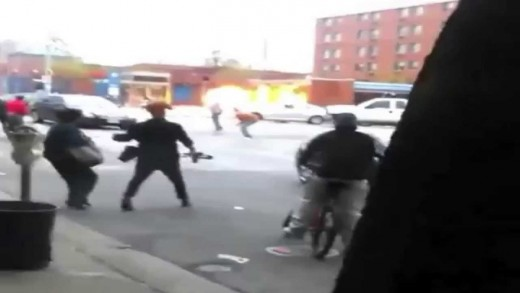 Baltimore Riots Looting BOMB Tears Gas Clash Protesters Freddy Gray Protest Erupts Chaos (RAW VIDEO)