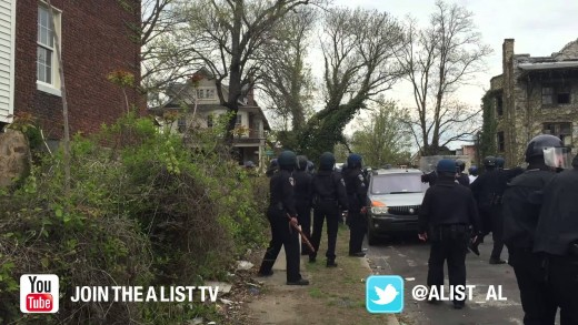 Baltimore Riots Uncut, Officer Down