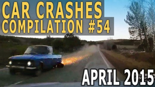 Car Crash Compilation 2015 April – Accidents of the Week #54