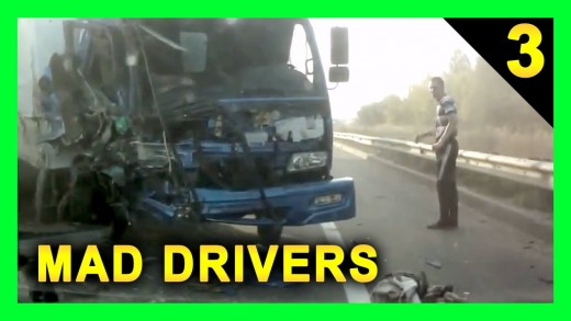 Car Crash Compilation – MAD DRIVERS Worldwide #3 – 27 CRAZY Videos of Car Crashes