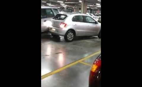 City Mall Parking Space Rage