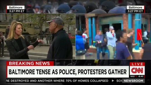 CNN Anchor on Baltimore Riots: Some Veterans Are Coming Home 'Ready to do Battle'