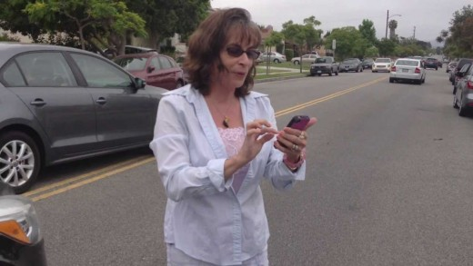 Crazy Lady With Road Rage (Curse words)