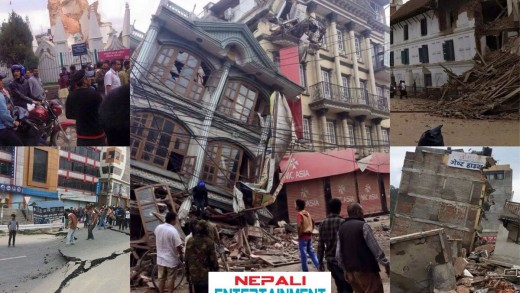 Earthquake in Nepal 2015 | नेपालमा शक्तिशाली  भूकम्प | Nepali News | Exclusive Video.