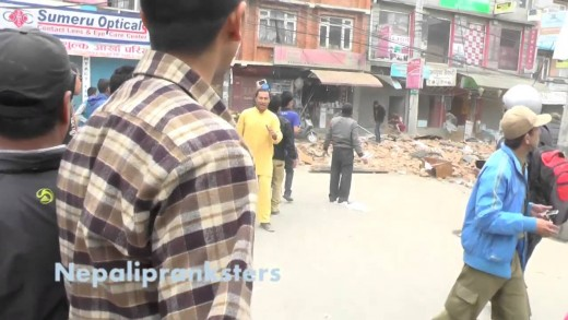 Epic Earthquake In Nepal (Full HD) – NepaliPranksters TV