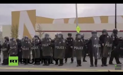 LIVE: Mass Baltimore protest follows Freddie Gray funeral