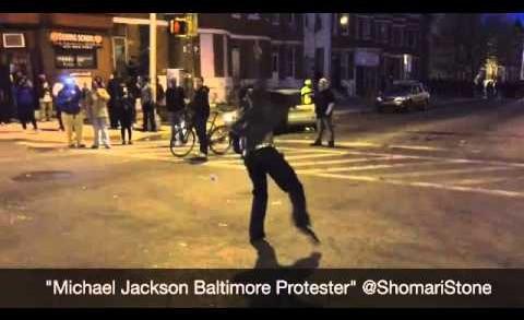 Michael Jackson Riots in Baltimore