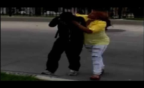 Mom filmed scolding, physically removing son from Baltimore protest