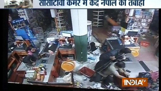 Nepal Earthquake: Watch How Darbar Square Destroyed in Seconds – India TV