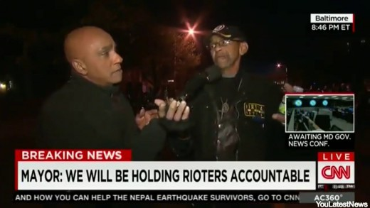 Robert Valentine Vietnam Vet on #BaltimoreRiots: I'm Not Black, I'm An American -CNN Interview|VIDEO