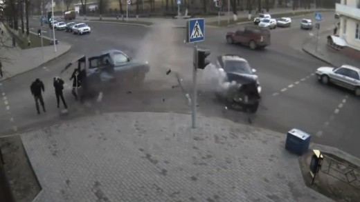 Russian Road Rage and Accidents January 2013 [18+] ll SFB