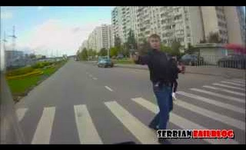 Russian Road Rage and Accidents September 2012 [18+] ☆ SFB