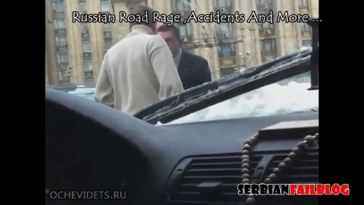 Russian Road Rage and Accidents August 2012 [18+] ☆ SFB