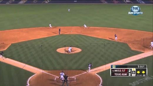 05/23/2013 Texas A&M vs Mississippi State Baseball Highlights