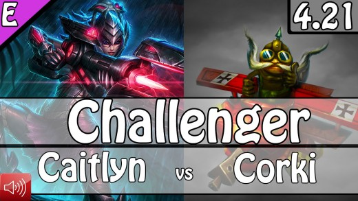 1998: Hi Im Gosu as Caitlyn / Janna vs Corki / Thresh Bot – S5 Preseason Challenger Ranked
