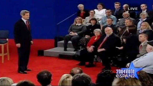 2004 Presidential Debate – George W. Bush vs. John Kerry
