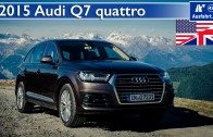 2015 Audi Q7 3 0 TDI quattro tiptronic – Test / Test Drive and In-Depth Review (English)