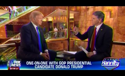 • Donald Trump • One On One • Hannity • 6/17/15 •