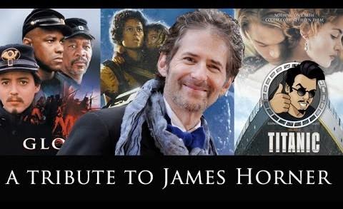 A Tribute to James Horner (HD) 2015, Glory, Titanic, Avatar
