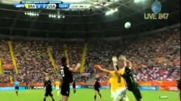 Abby Wambach Goal vs. Brazil in the 122′ – 2011 FIFA Women's World Cup