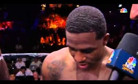 Adrien Broner Post Fight Interview After Shawn Porter Loss