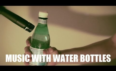 Antwaan – Music with water bottles