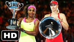 ►HD◄ Serena Williams vs. Maria Sharapova (Australian Open 2015 Final HIGHLIGHTS)