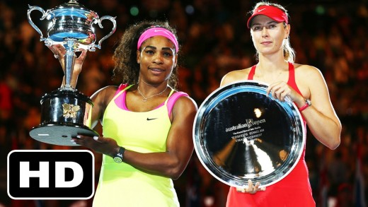 ►HD◄ Serena Williams vs. Maria Sharapova (Australian Open 2015 Final HIGHLIGHTS)